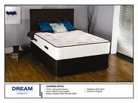 luxury beds , comes in single,double and kingsize divans and mattresses from £200