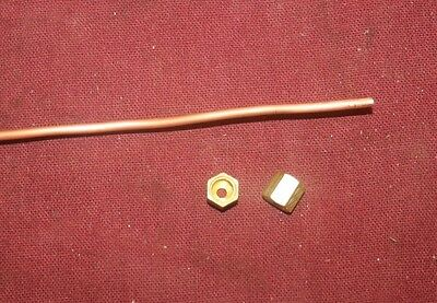 2 Foot Briggs Stratton Wmb Y Fuel Gas Tube Line Fittings Hit Miss Gas Engine