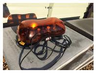 Britax magnetic amber flashing lights
