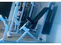 Incline pec dec commercial/home gym