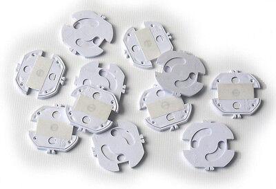Reer Steckdosenschutz zum kleben 10 Stück - 3246.910 Babysicherheit
