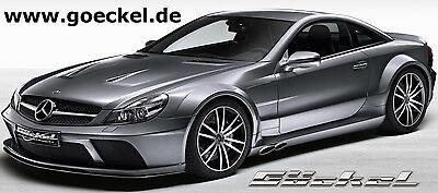 Mercedes SL R 230 AMG65 BlackSeries-Look Komplettumbau ohne Breitbauweise