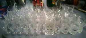 Various sets of Crystal Glasses including Decanter Epping Whittlesea Area Preview