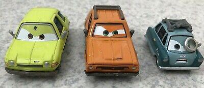 Disney/Pixar Cars Diecast~ Lot Of 3 ~Grem, Acer & Professor Z