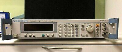 Rohde Schwarz Sml01 Signal Generator 9khz To 1.1ghz