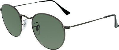 Ray-Ban Men's Icons RB3447-029-50 Grey Round (Ray Ban Icons)