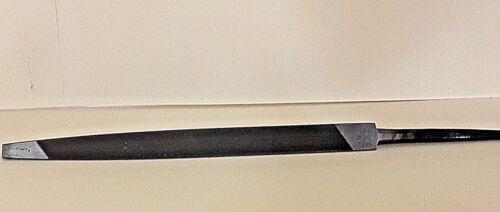 "Nicholson 13775 5"" Machete Taper File Triangle for  6 Teeth Handsaws USA  NEW!"