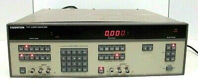 Boonton 1121 Audio Analyzer 10 Hz To 200 Khz Good Working Free Ship
