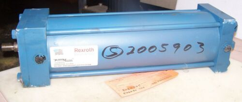 """NEW REXROTH P-113453-0140 HYDRAULIC CYLINDER 5"""" BORE 14"""" STROKE 1/2"""" NPT CLEVIS"""