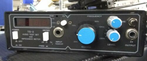 Gold Line TS-2 Portable Test Meter with Impedance Meter