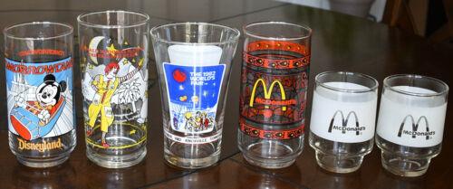 Mixed Lot of 6 Vintage McDonald