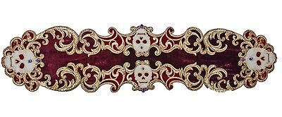 Katherine's Collection Venetian Masquerade Halloween Table Runner NEW