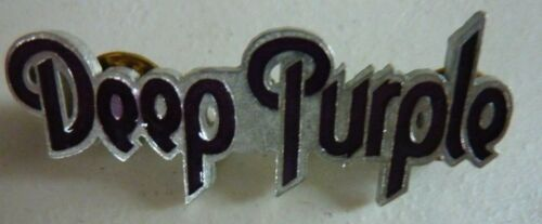 Deep Purple -  Vintage Cast Metal Pin Badge - 2 different