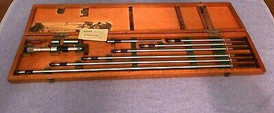 Vintage Mitutoyo Inside Micrometer No. 141-122 8-40 Standards .001 Ims 40