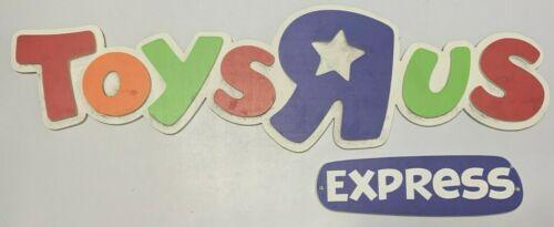 Toys R Us Express Sign Original Rare Storefront