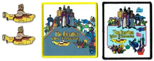 The Beatles Yellow Submarine + The Forces of Good! Album Cover Patch Lot of 4