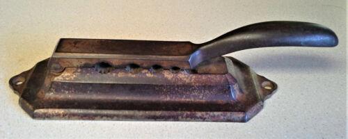 Vintage Whitall Tatum Pharmaceutical Apothecary Cast Iron Cork Press - RARE!