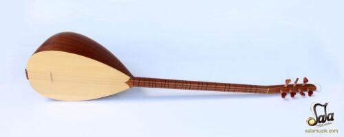 Turkish Professional Long Neck Mahogany Baglama Saz For Sale MSL-101