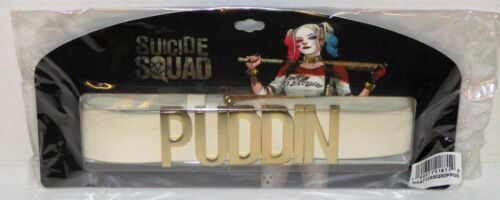 OFFICIALLY LICENSED Suicide Squad Harley Quinn Puddin Choker Neck Collar