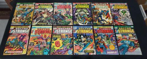 DOCTOR STRANGE #1-81 ANNUAL #1 COMPLETE BRONZE COMIC BOOK RUN DR. STRANGE