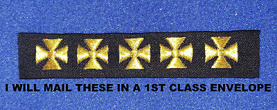 Firefighter Service Crosses for Class A Uniforms   Years of Service Crosses