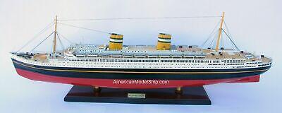 SS Nieuw Amsterdam Holland Ship Model 36.5