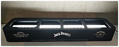 Jack Daniels Led Metal 4 Bottles Stand Riser Rare Collector Gift Souvenir for sale  Shipping to Canada