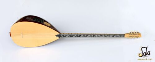 TURKISH QUALITY LONG NECK WALNUT BAGLAMA SAZ FOR SALE ASL-302GEQ