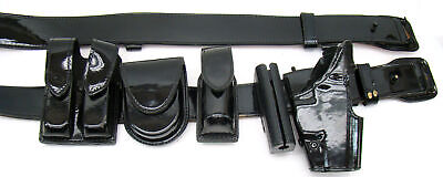 Gouldgoodrich Patton Leather Duty Belt 3644 Sig 226 Right Holster Complete I