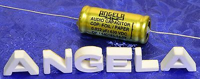 .022uF Angela Jensen Copper Foil Paper In Oil Premium Guitar Tone Capacitor