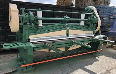 Nice Heller Machinery 14 X 10 Mechanical Power Shear