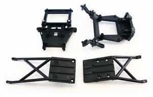 Traxxas 1/10 Slash 2WD * SKID PLATES & SHOCK TOWER * Body Mount Bulk