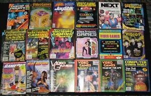 Vintage Video Game / Computer Game Magazines, Strategy Guides