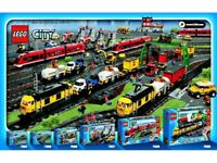 WANTED - LEGO TRAINS - 9v , 12v and RC !