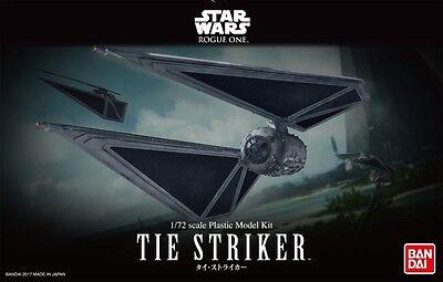 Bandai 1:72 Star Wars Rogue One Tie Striker Model Kit 0214474 BAN214474