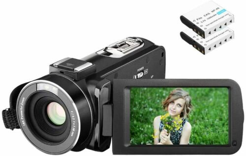 Video+camera+Camcorder+1080P+24MP+Full+HDD+2.7+InchLCD+Screen+270Degree+Rotation