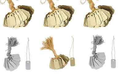 Price Tag Organizer Label String Merchandise Jewelry Sale White Gold Silver 100