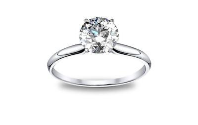 DIAMOND MANSION's Natural Round Cut Twisted Pave Diamond Engagement Ring - GIA C 1