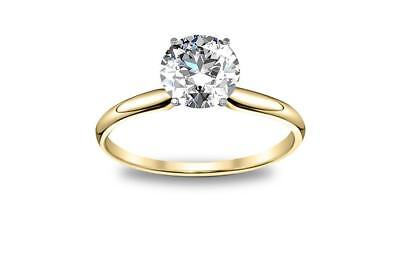 DIAMOND MANSION's Natural Round Cut Twisted Pave Diamond Engagement Ring - GIA C 2