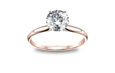 DIAMOND MANSION's Natural Round Cut Twisted Pave Diamond Engagement Ring - GIA C