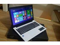 White Brand New Asus X553MA 15.6''Laptop Dual Core 2.16GHz 4GB RAM 1TB HDD DVD Windows10 1Y WARRENTY