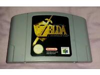 Zelda Ocarina Of Time N64 not snes ps1 ps2 ps4 xbox