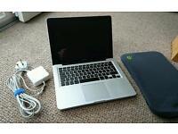 """MacBook Pro 13 - Late 2011 """"Legacy"""" Model - 2.4GHz i5 processor, 4GB RAM, 500GB HDD"""