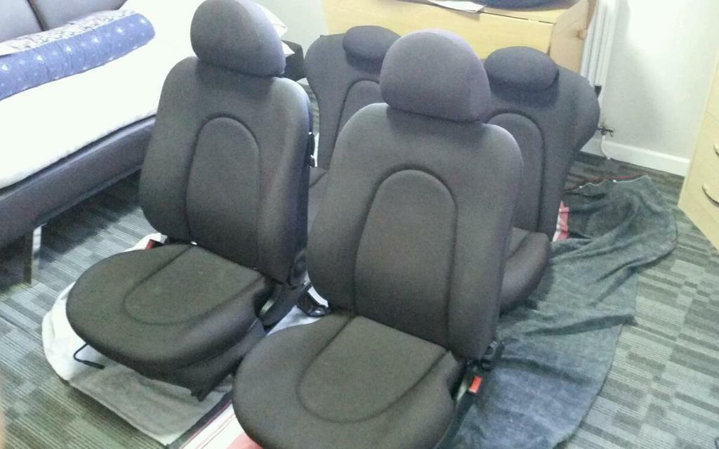 Ford Ka Black Cloth Seats Old Shape