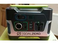 Goal Zero Yeti 150 Power Bank/Solar Generator/leisure battery