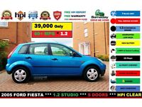 2005 FORD FIESTA *** 39K MILES GENUINE MILES WITH FULL SERVICE HISTORY *** LONG MOT! POLO KA CORSA
