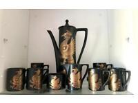 Portmeirion Phoenix Retro Coffee Set 1970's