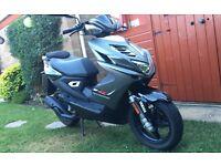 2014 Yamaha Aerox R 50cc 8000 miles
