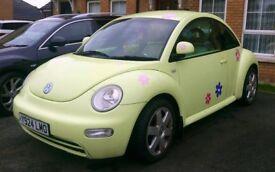 2001 Volkswagen Beetle 1.6 Petrol