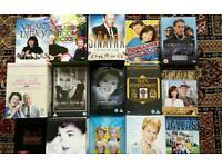 Huge bundle of box set dvds, job lot dvds & cds